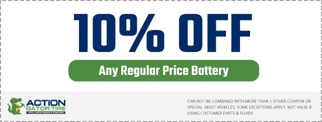 $10 Off Battery Special Coupon