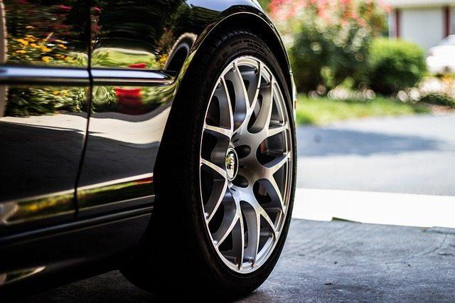 Car-tire-closeup