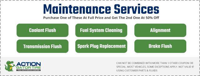 Maintenance Service Coupon