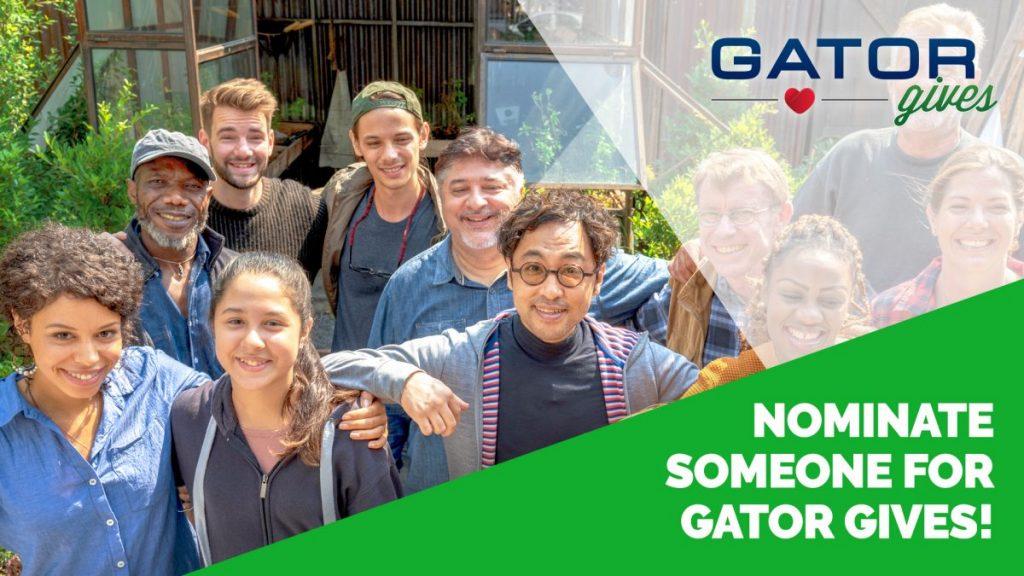 Nominate Someone at GatorGives.com